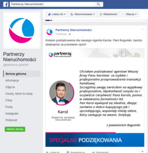 Zdjecie biznesowe w portalu społecznościowym