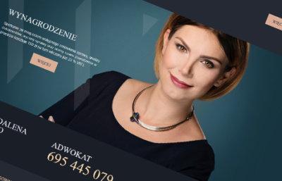 Zdjęcia biznesowe na stronie kancelarii adwokackiej